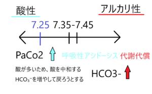酸塩基平衡 代償